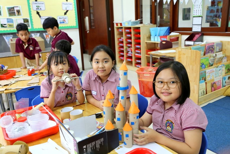 BVIS HCMC Primary students enjoys STEAM activities