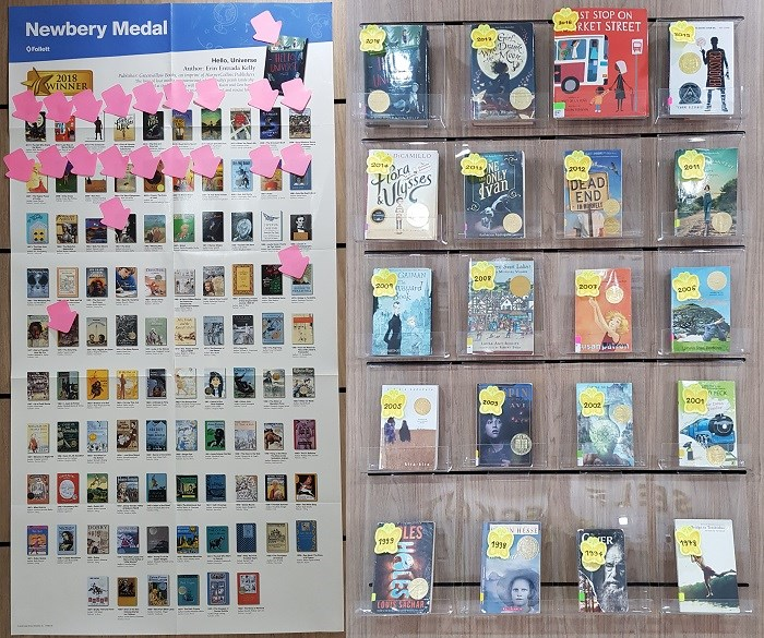 Newbery Award-winning titles
