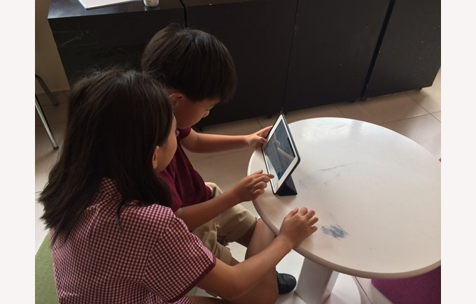 Learning Through Technology at BIS HCMC10