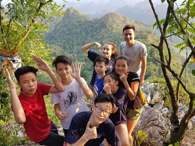 British International School Hanoi Y8 Cat Ba Trip 2018 (2)