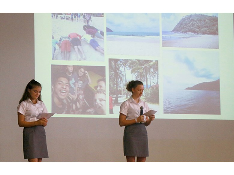 Year 8 and 9 Residential Tioman Trip Assembly
