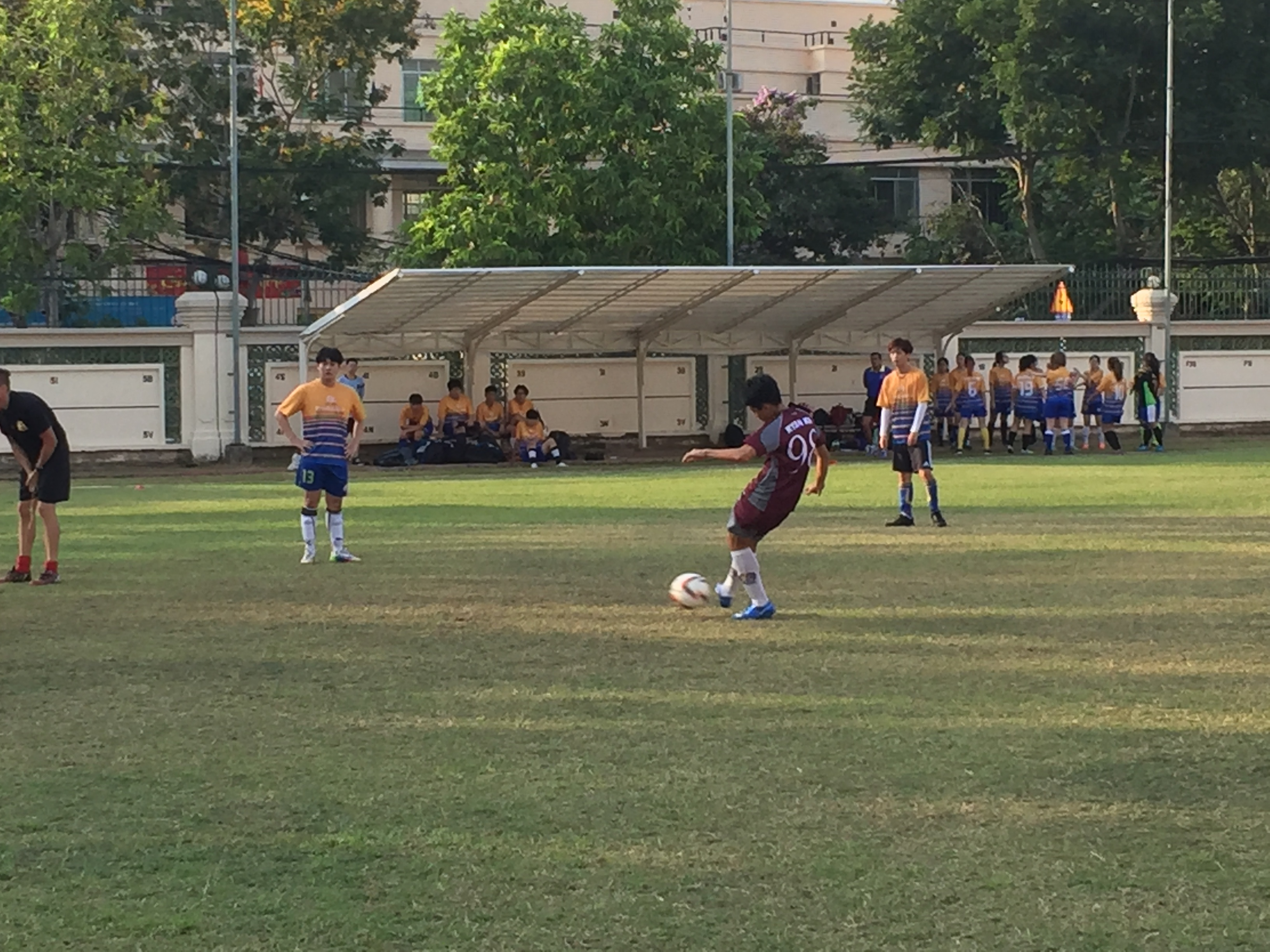 BIS HCMC U19 Boys Football Home against RISS 1