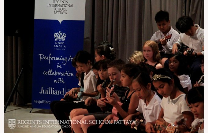Music Curriculum Evening Juilliard - Regents International School Pattaya