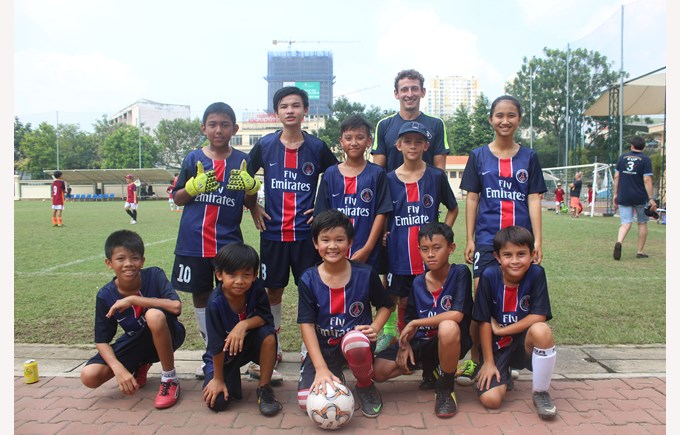Community Football Tournament BISHCMC Paris St Germain