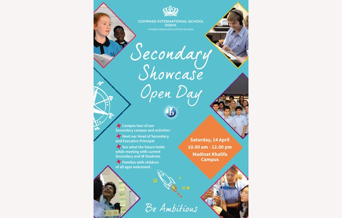 Secondary Showcase Open Day 2018