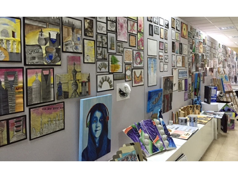 Year 11 art students at the British International School Shanghai, Puxi impress with an outstanding exhibition