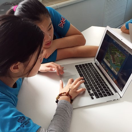Y6 studying climate change