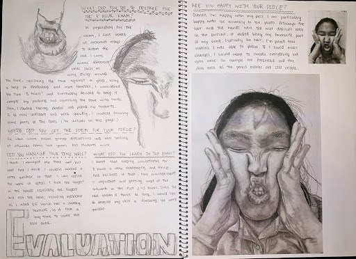 Year 11 Sketchbooks