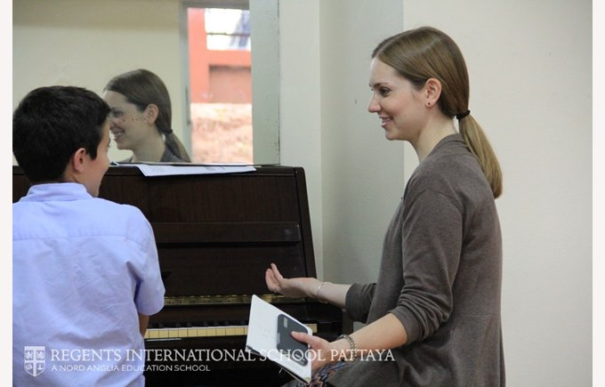 Kathryn Andersen Juilliard visit - Regents International School Pattaya