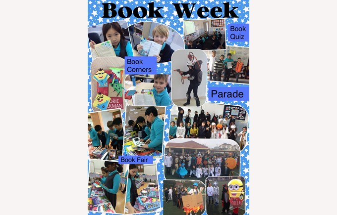 Book Week in Year 5