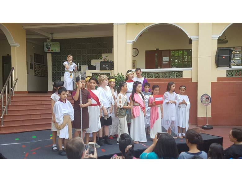 BIS Ho Chi Minh Year 5 Step Back in Time - 4