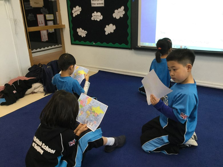 EAL students camouflaged all around the world