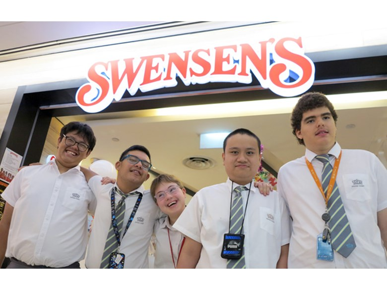INRL Mini Enterprise Project Smoothies trip to Swensens