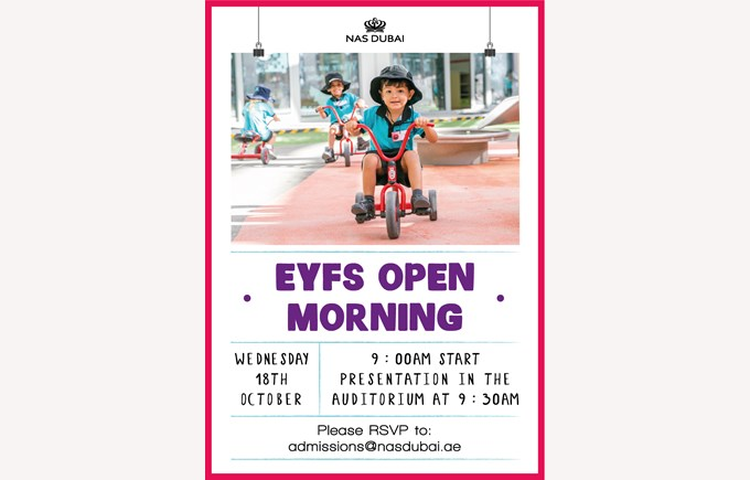 EYFS Open Morning