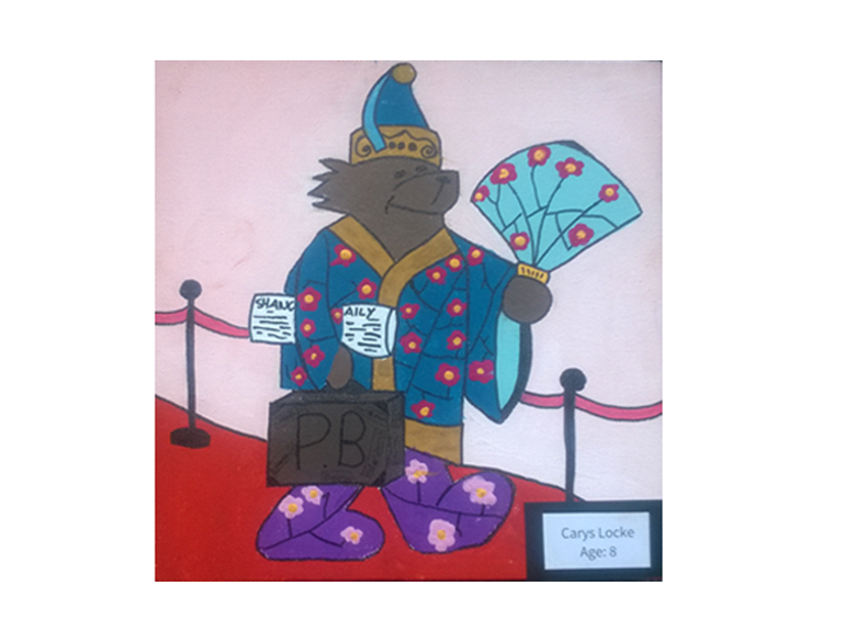Winning entry from the British International School Shanghai in the Paddington Bear Competition