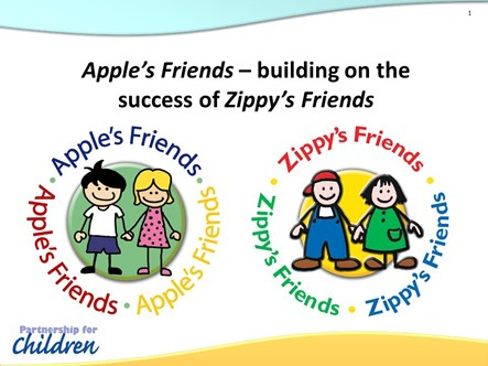 zippy & apple logo