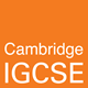 cambridge igcse logo orange