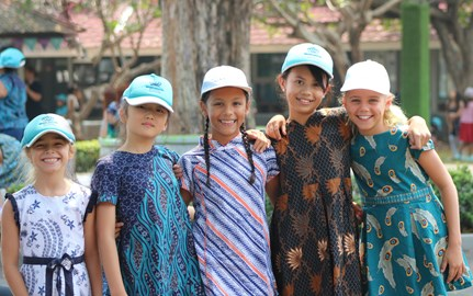 NAS Jakarta celebrates National Batik Day
