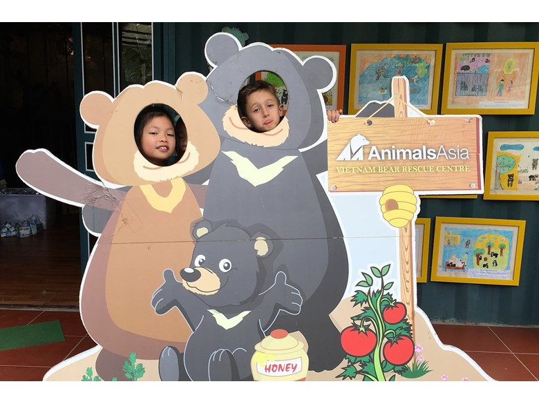 British International School Hanoi Tam Dao Bear Animals Asia