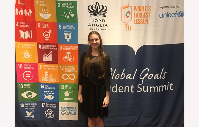 Tildie- Most Diplomatic Delegate in the Food and Agriculture Global Goals MUN