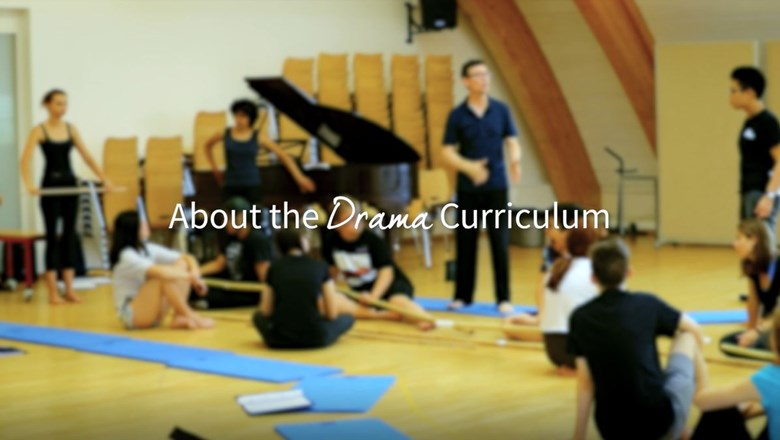 about the drama curriculum