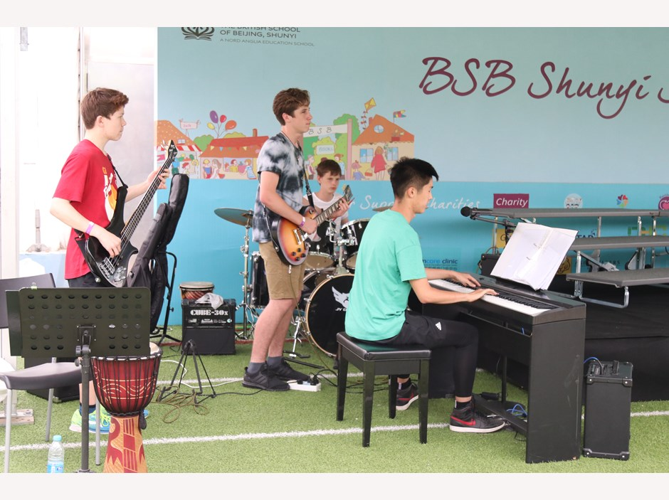 2018 Summer Fayre 09 - Rock Band
