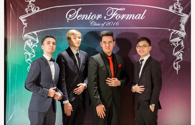 Regents Pattaya - Senior Formal 2016
