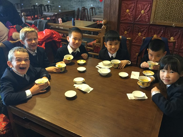 Year 3 Trip to Laoshe Teahouse