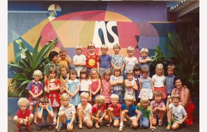 Vintage photo | NIS international school Jakarta