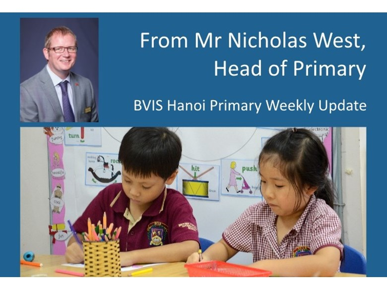 BVIS Hanoi Primary update 19 June