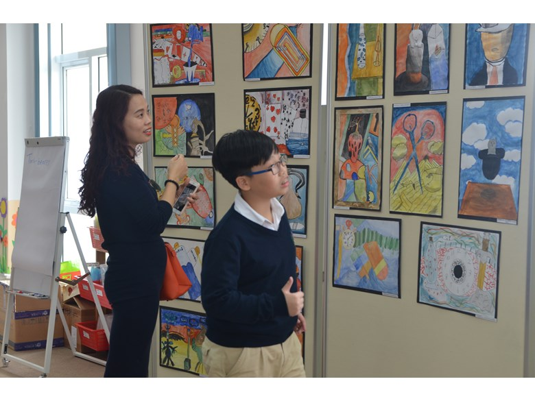KS3 Art Exhibition 7