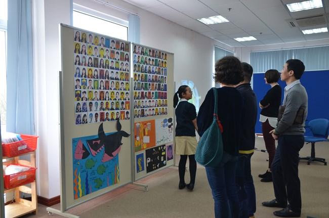 KS3 Art Exhibition