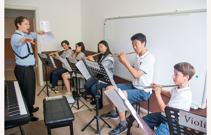 Juilliard Artists Visit 201808