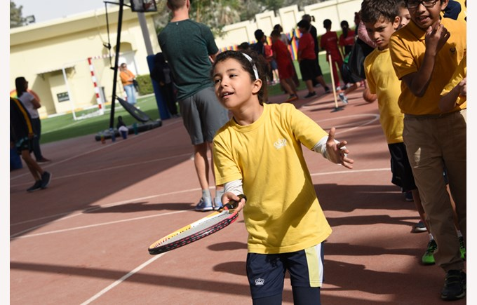 Gharaffa Y3 and Y4 Sports Day 2018
