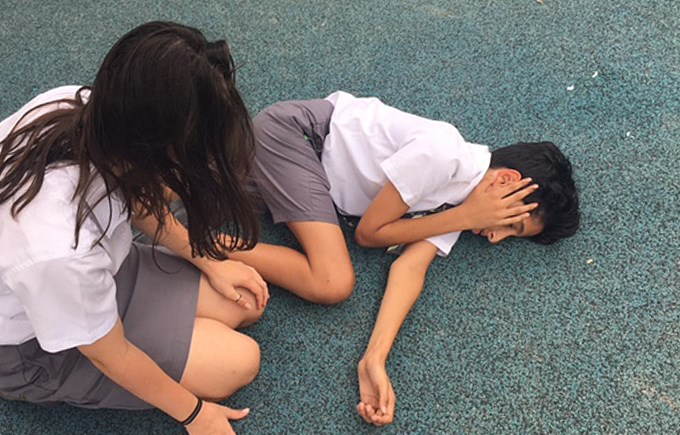 Year 9 First Aid Training in PSHE