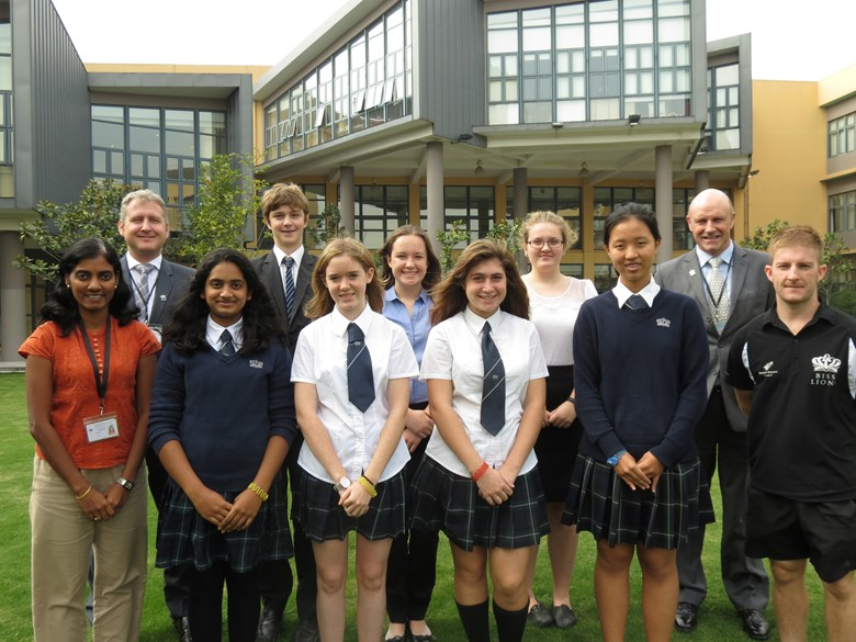 The team chosen to go to Tanzania as part of the Global Classroom Expedition