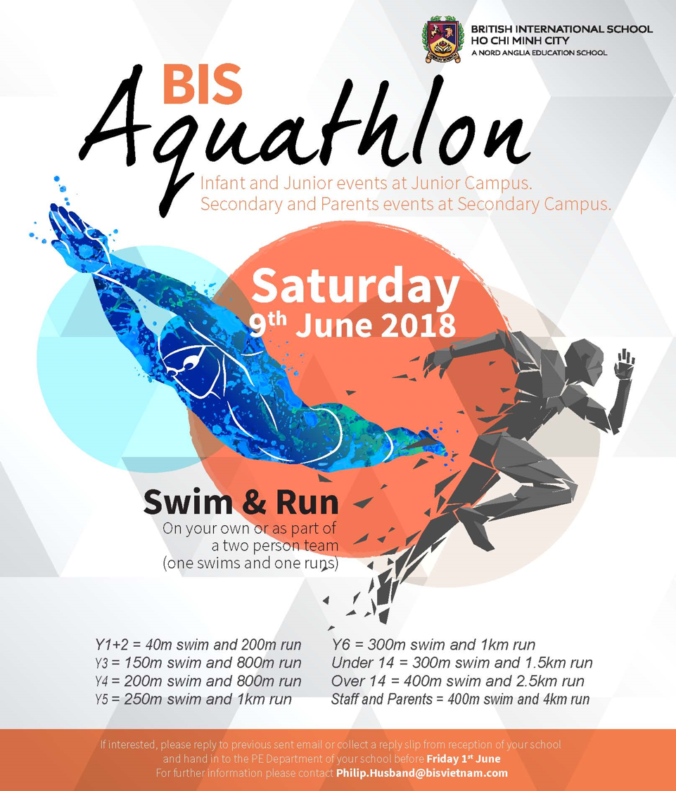 BIS HCMC Aquathlon 2018