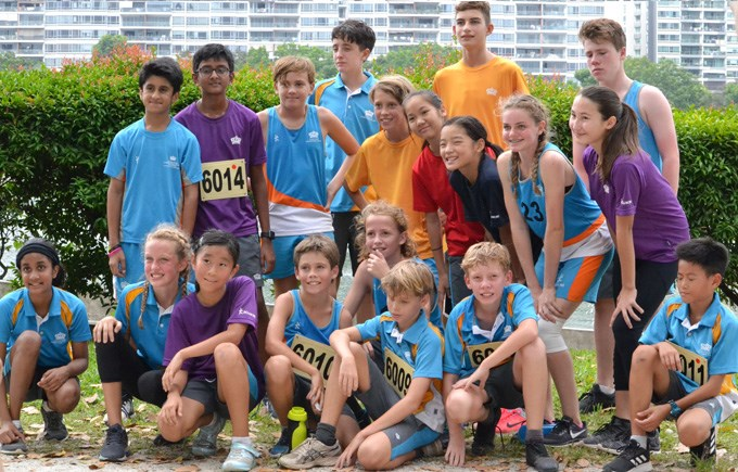 DCIS Under 12 and Under 14 ACSIS Cross Country Teams