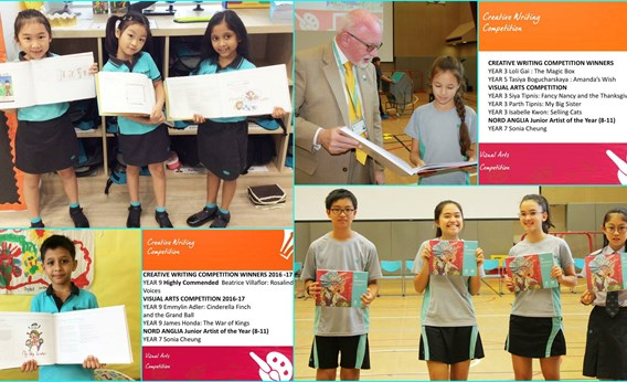 Winners of the Creative writing Competition