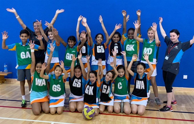 DCIS U11 Netball Teams Winners and Runners Up in Division 4
