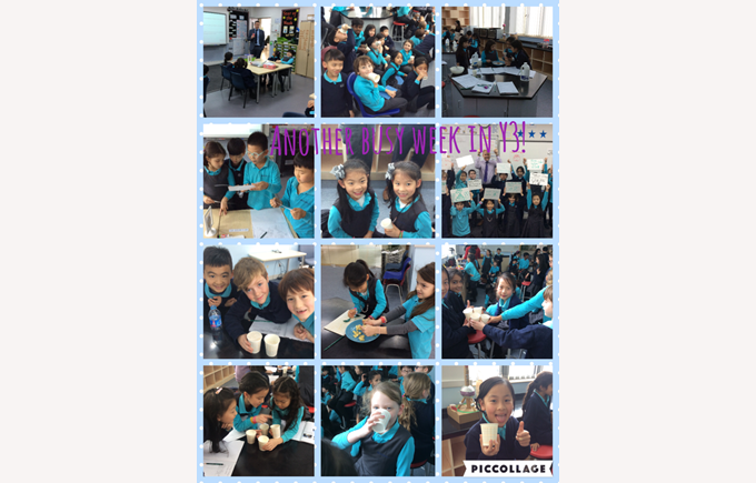 Year 3 keeping busy