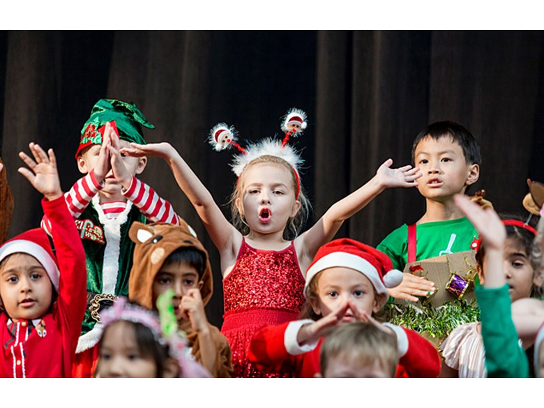 Dover Court International School, Singapore. Super Star, A Nativity Musical by Year 1 and Year 2