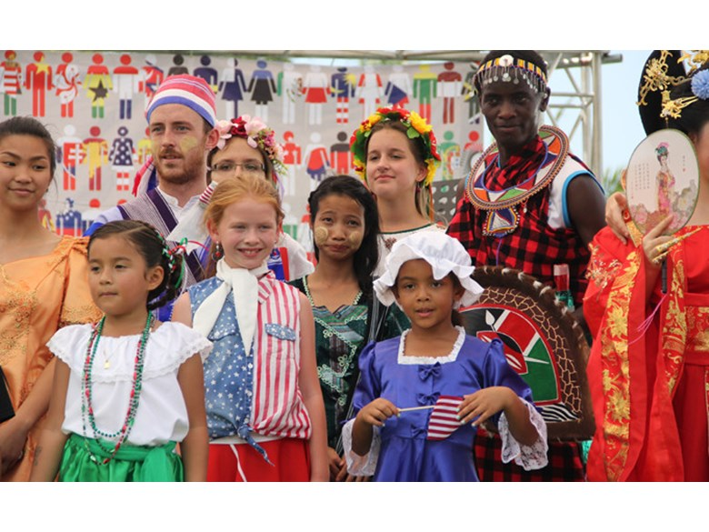 Boarding and day students celebrate international day | Regents International School Pattaya