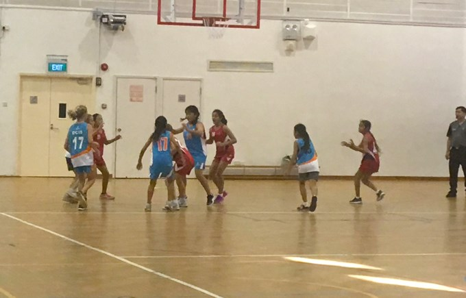 Under 12 Girls Basketball: DCIS v Tanglin