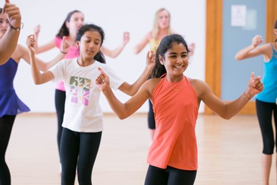 Girls Dancing Juilliard Dance Curriculum