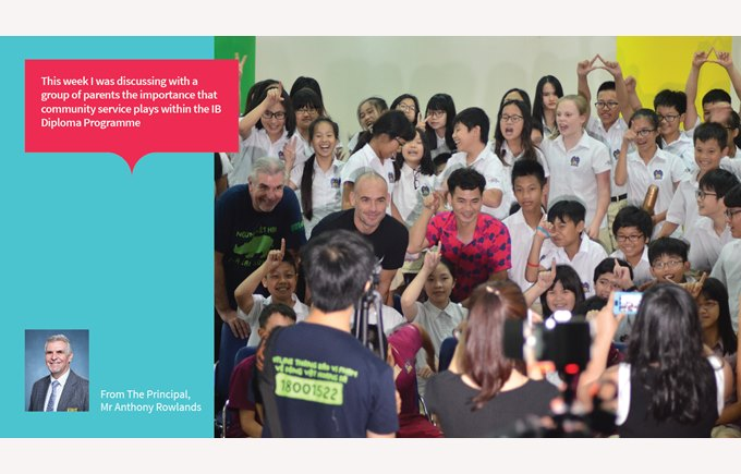 British International School Hanoi save the rhino vietnam