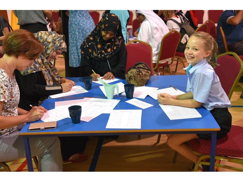 Gharaffa Phonics and Maths Workshop