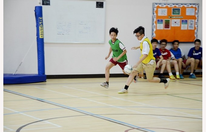 Key Stage 4 House football