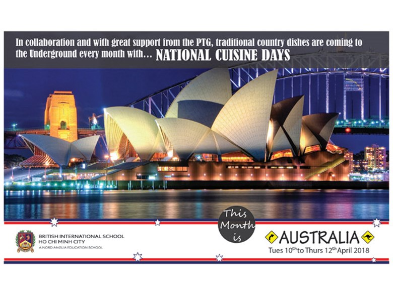 National Cuisine Day - Australia