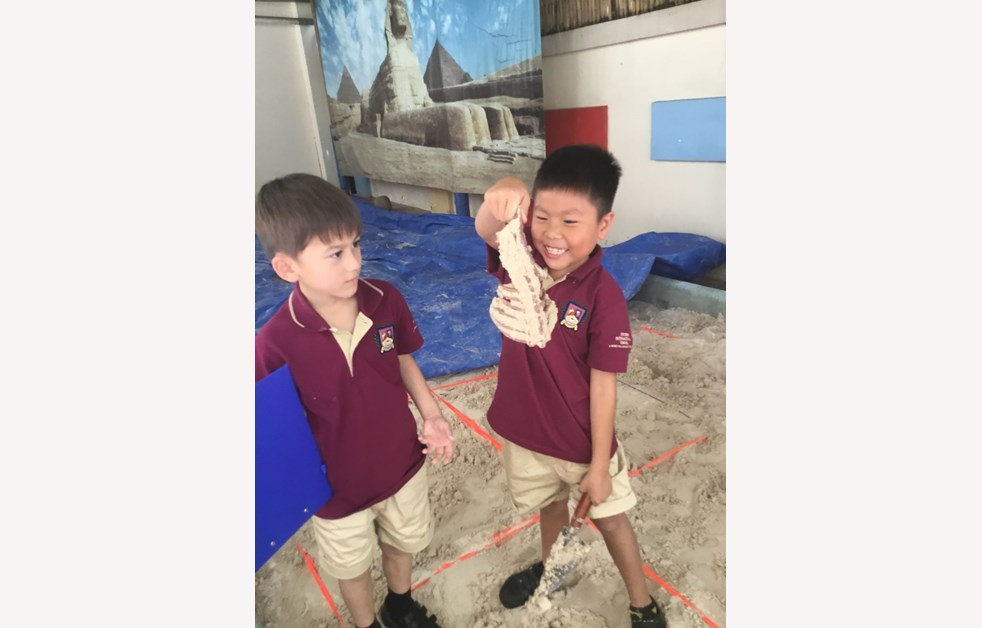 Fossils Found At BISHCMC 6